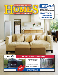 Homes – Fredericton Home Improvement Magazine -Advertising